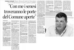 Così parlò Mauro Marzucchi