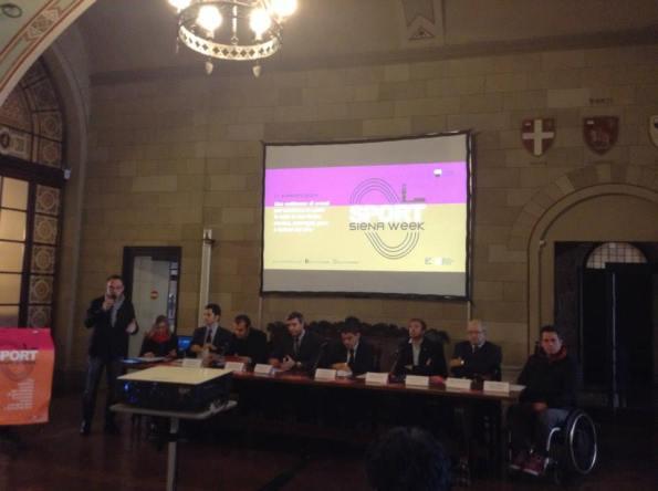 La presentazione di Siena Sport Week