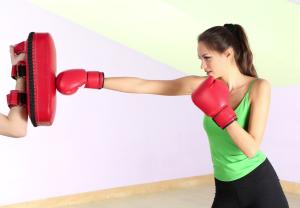 Mara Morini in allenamento… Non la fate arrabbiare!!!