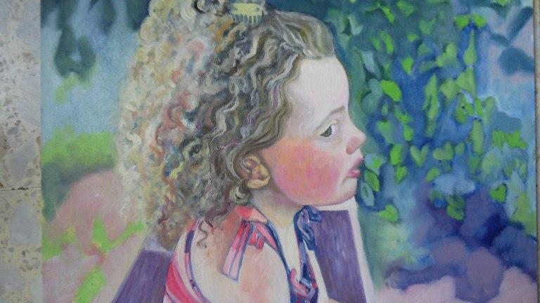 Un'opera di Luisa Abbruzzese
