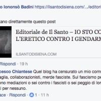 """Editoriale de Il Santo - """"Gentaglia, collaborazionisti, merde fasciste..."""""""