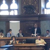 La Foto della Settimana - Marco Falorni dopo un'era giurassica Presidente del Consiglio Comunale di Siena