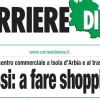 La Foto della Settimana - Centro Commerciale a Isola d'Arbia? Speriamo sia un colpo di calore!!!